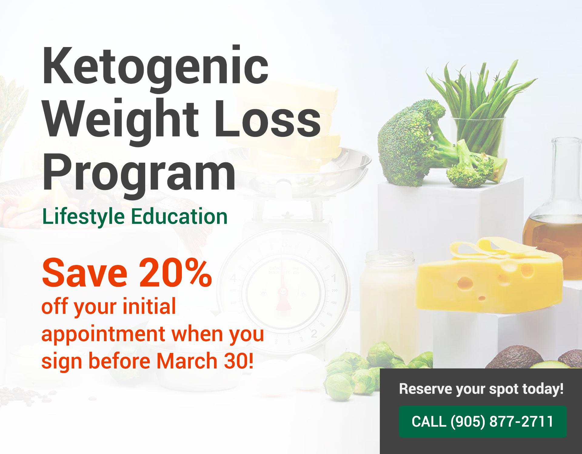 Ketogenic Weight Loss Program