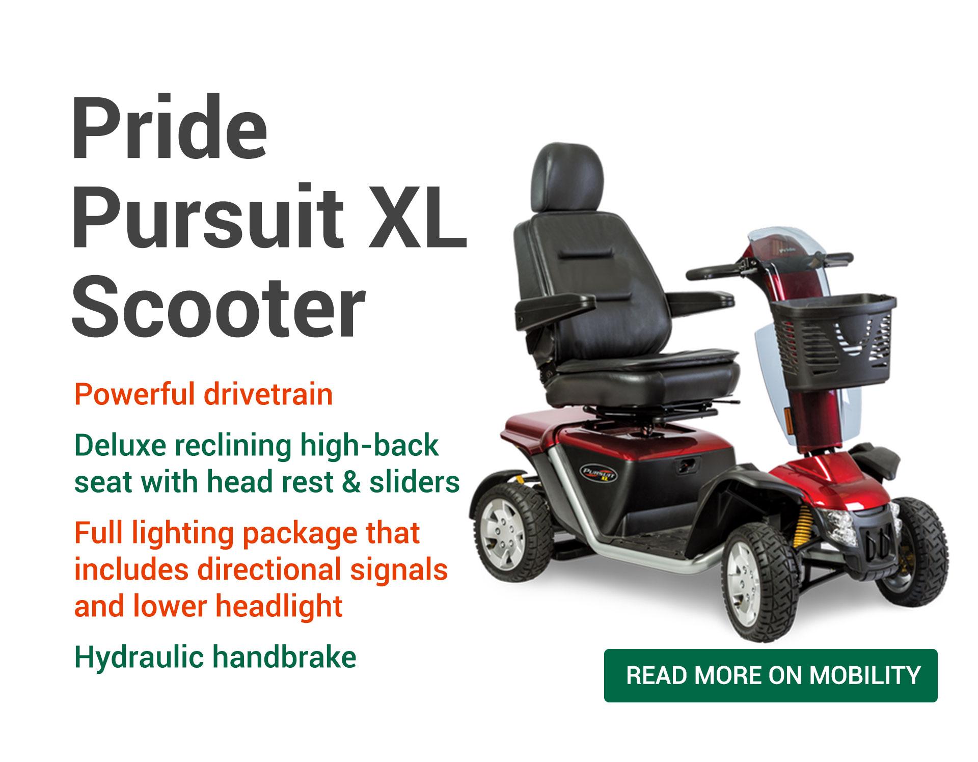 Pride Pursuit XL Scooters