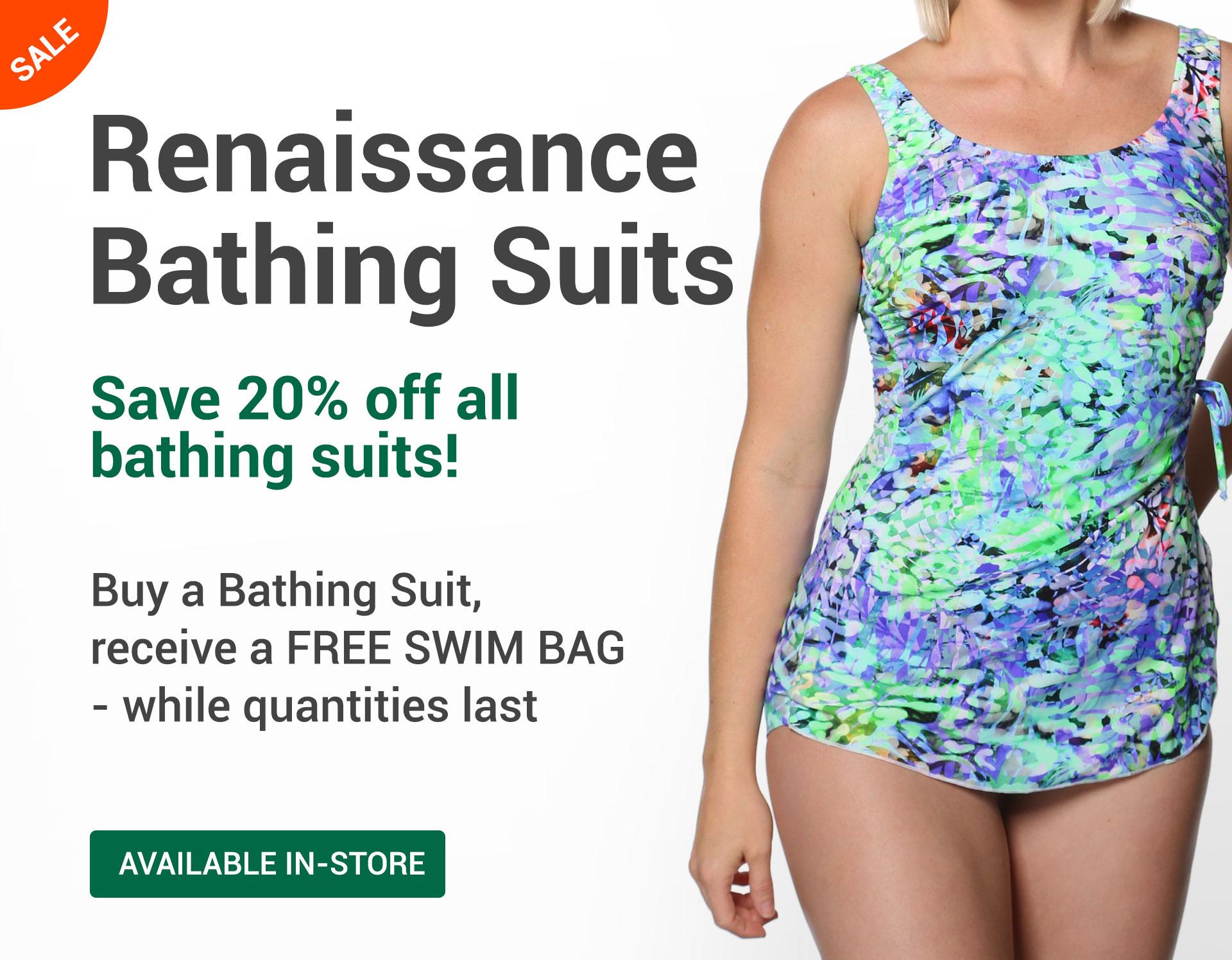 Renaissance Bathing Suits - On Sale