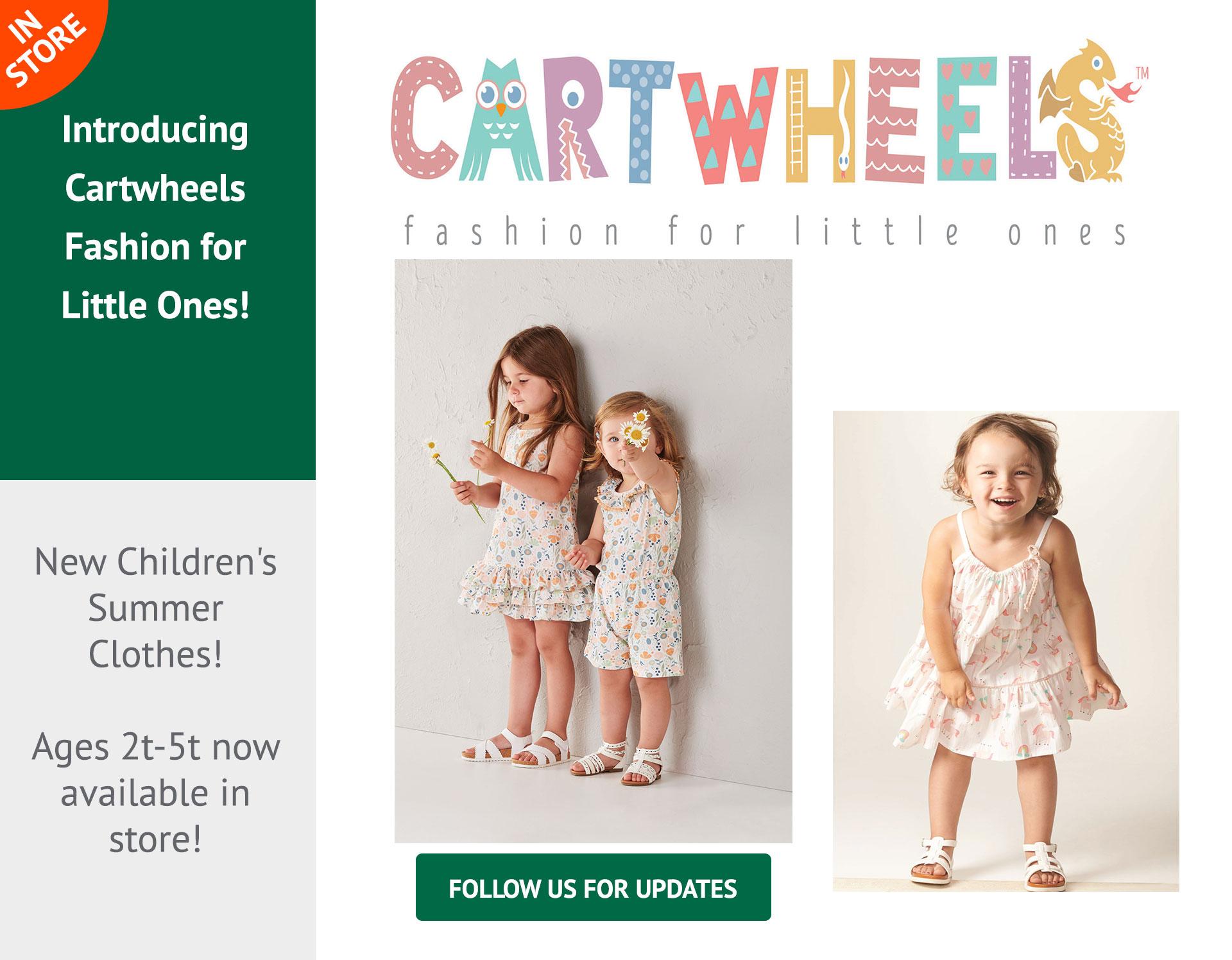 cartwheels clothing