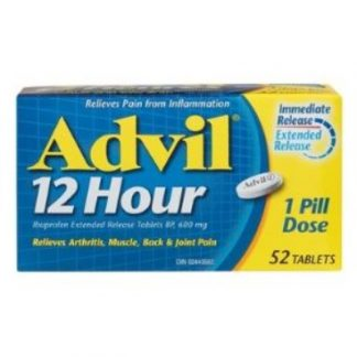 Advil 200MG 50 Tab