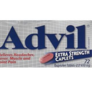 Advil Extra Strength 400MG 72 Tab