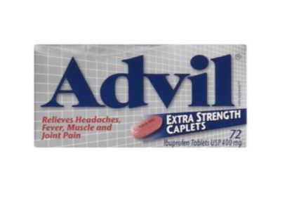 Advil Extra Strength 400MG 72 Tab