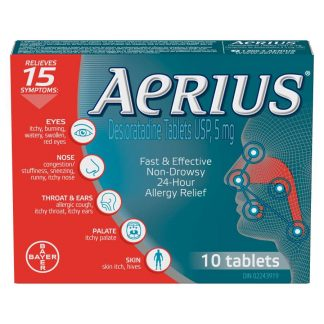 Aerius 5MG TB 10