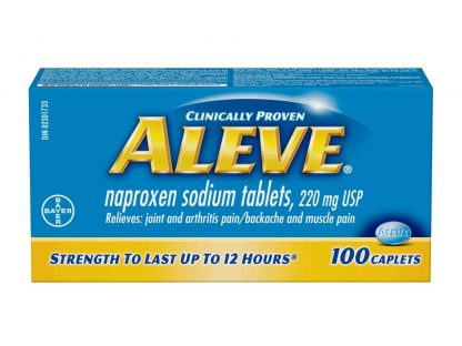 Aleve Caplet 220MG 100