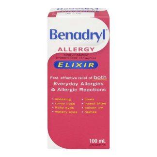 Benadryl Elixir 100ML