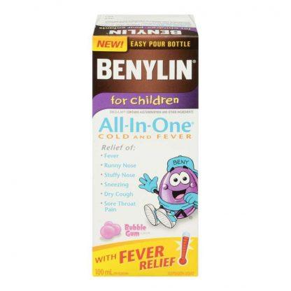 Benylin All In One – Child 100ml