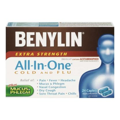 Benylin All In One XST 24CP
