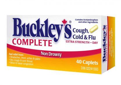Buckleys Complete Day 40 Caplets