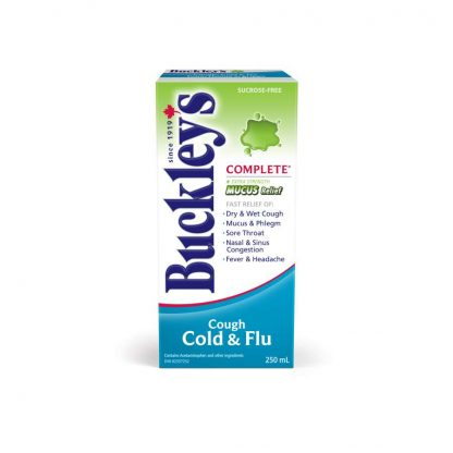 Buckleys Complete Cold, Cough & Flu 250ML