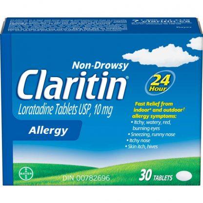 Claritin Non-Drowsy 10mg 30 Tab