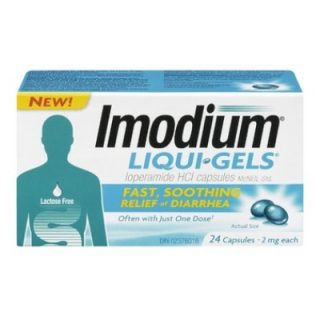 Imodium 2MG Liquid Gels 24