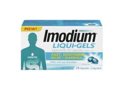 Imodium 2MG Liquid Gels 24