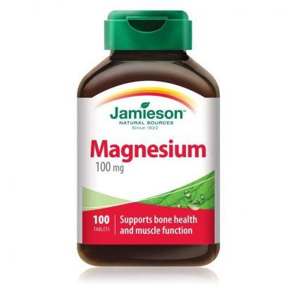 Jamieson Vitamin Magnesium 100MCG 100 Tab