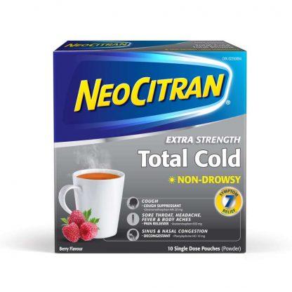 Neocitran Ex-Strength Tota Cold Non Drowsy Berry 10