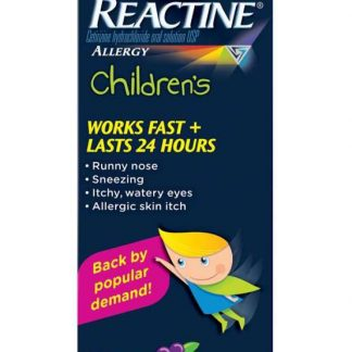 Reactine Childrens Grape 118ML