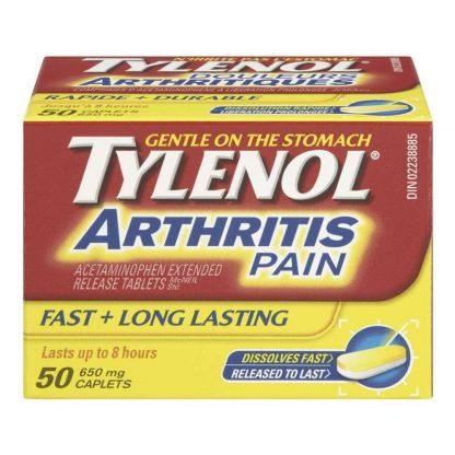 Tylenol Arthritis Pain 50 Tab