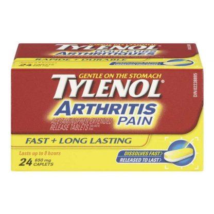Tylenol Arthritis Pain 24 Tab