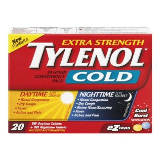 Tylenol Cold Extra Strength Convenience Pack Day/Night 10+10
