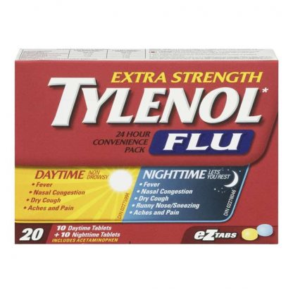 Tylenol Flu Extra Strength Convenience Pack Day/Night 10+10