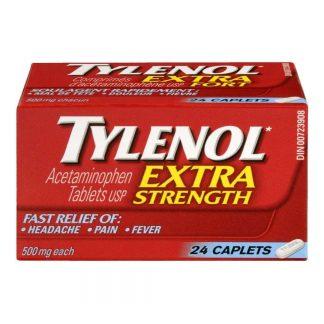 Tylenol Extra Strength Caps 24