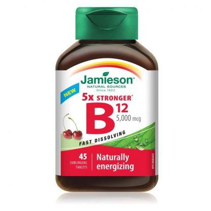 Jamieson Vitamin B12 5000MCG 100 Tab