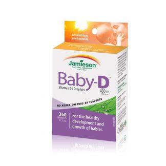 Jamieson Vitamin D Baby 400IU 11.7ML