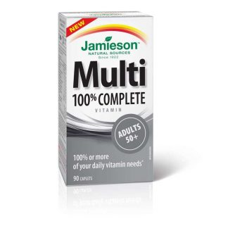 Jamieson Vitamin Complete Multi Adults 50+ 90 Cap