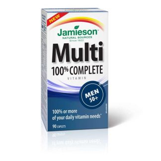 Jamieson Vitamin Complete Multi Men 50+ 90 Cap
