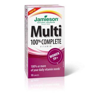 Jamieson Vitamin Complete Multi Women 50+ 90 Cap