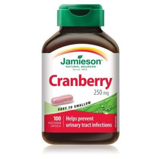 Jamieson Vitamin Cranberry 250MCG 100 Caps