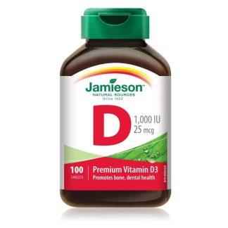 Jamieson Vitamin D 1000IU 100 Cap