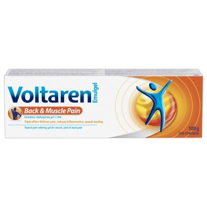 Voltaren Emulgel Back & Muscle Pain 100G